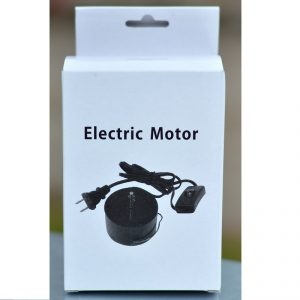 Electric Mains Motor EU Plug Black 2
