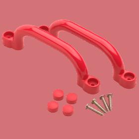 Plastmassist käepidemed
