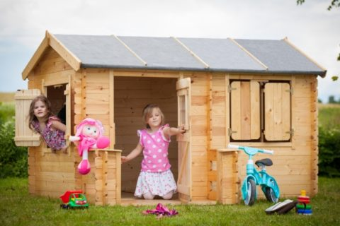 M503 G wooden playhouse kids