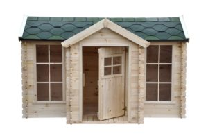 M520-B-wooden-playhouse-clockhouse-front