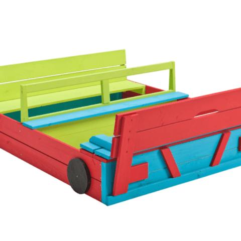 Liivakast autu värvitud