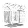 Bertilo 8x6LL19LUX Blockhouse LUX nat expl