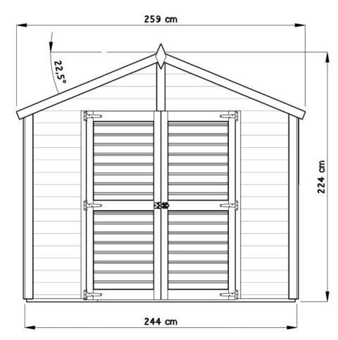 Bertilo_8x8LL19PWNF_Blockhouse-XL_nat_front_dim