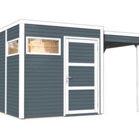 Aiamaja CUBO 2 varjualusega (8,4 m²)