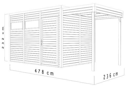 Bertilo BCCU3SAN Cubo 3 Set anth dim.cm  1