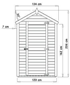 Bertilo BCK5001NF Cabin nat front dim