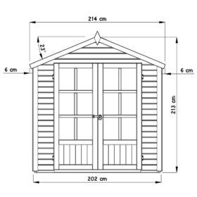 Aiamaja MELROSE (4,2 m²)