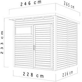 Aiamaja PENTO 2 (5,3 m²)