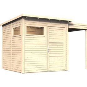 Aiamaja PENTO 2 varjualusega (8,4 m²)