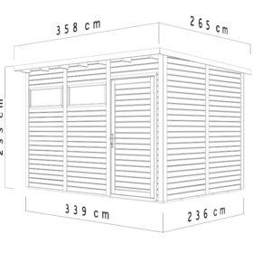 Aiamaja PENTO 3 (7,9 m²)