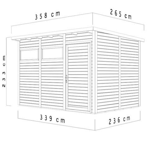 Pento 3 dimensions 2