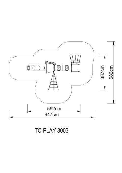 TC PLAY 8003