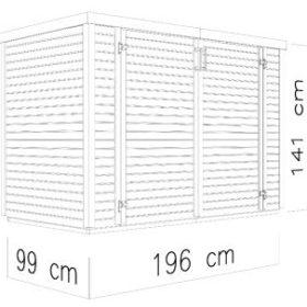 Panipaik WOODLINE BIKE (1,94 m²)