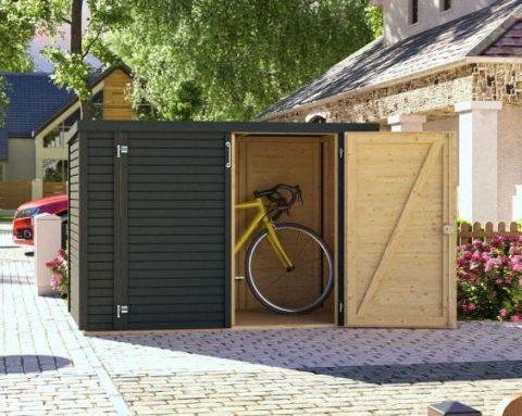 Bertilo BCWLBI1AN  Woodline Bike anthrazit Bild Hauptansicht 2 0.1