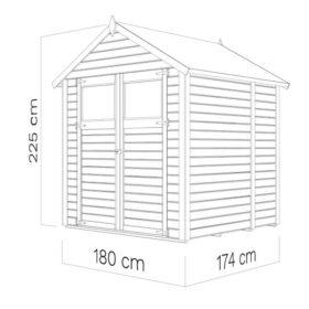 Aiamaja SYLT 2 (3,03 m²)