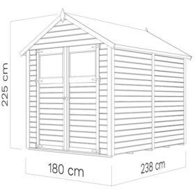 Aiamaja SYLT 3 (4,16 m²)