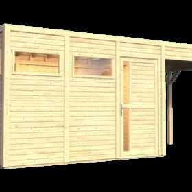 Aiamaja CUBUS 3 varjualusega (7,7 m²)