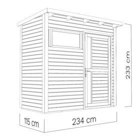 Aiamaja PENTUS 1 (2,7 m²)
