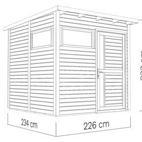 Aiamaja PENTUS 2 (5,1 m²)