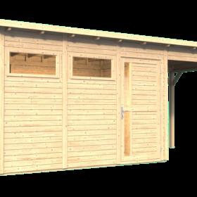 Aiamaja PENTUS 3 varjualusega (7,7 m²)