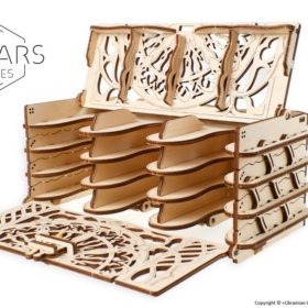 11 Card Holder Ugears Games max 1000