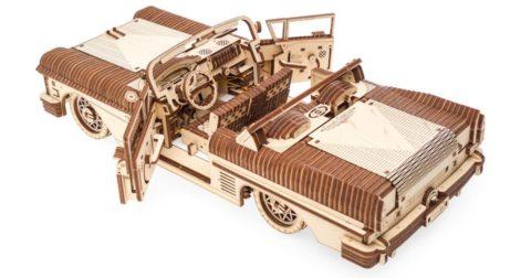 3D pusle kabriolett