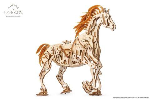 3D pusled hobuneUgears Horse Mechanoid Model Kit1 max 1000