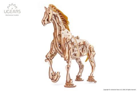 3D pusled hobuneUgears Horse Mechanoid Model Kit2 max 1000