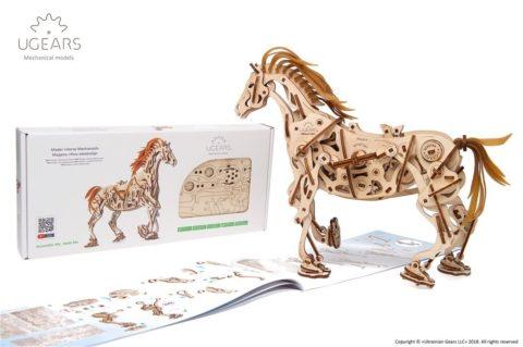 3D pusled hobuneUgears Horse Mechanoid Model Kit4 max 1000