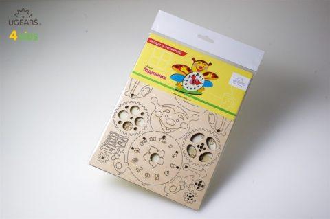 3D pusled kellUgears 4Kids coloring Clock 10 max 1000
