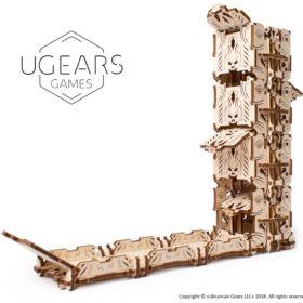 3D pusled täringutorn28 Modular Dice Tower Ugears Games max 1000