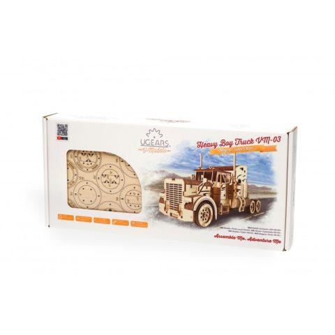 Ugears Heavy Boy Truck VM 03 Model Kit Package DSC8037 800x800