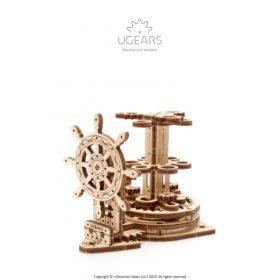 KOHE OLEMAS! 3D pusle – Laeva rooliratas pliiatsihoidja