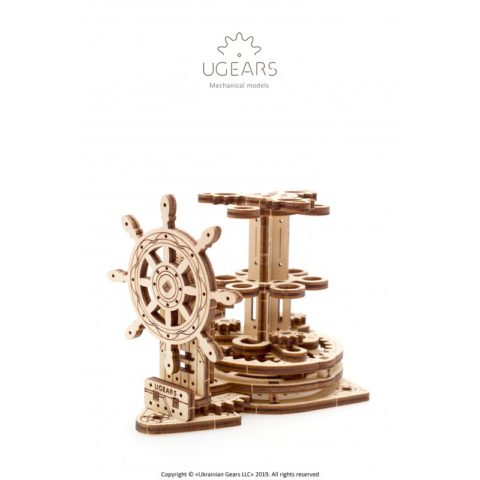 Ugears Wheel Organizer for pens pencils Mechanical model DSC4323 800x800