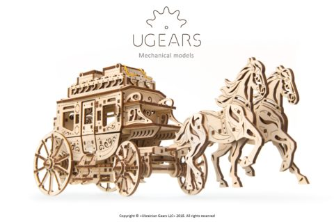 Ugears Stagecoach Photo instruction 01