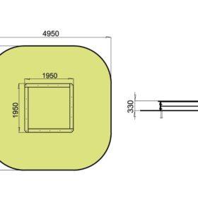 Liivakast TE302