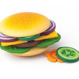 Puidust hamburger