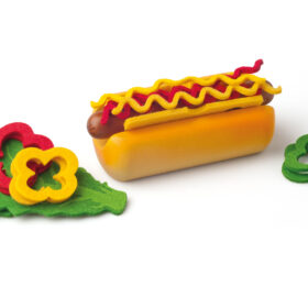 Puidust Hot-Dog