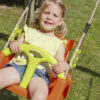 babyseat blue rabbit playtower wood