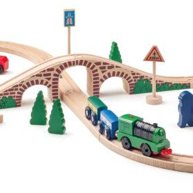 8 kujuline rongitee komplekt
