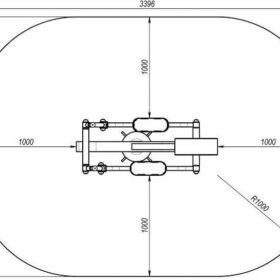 SM-116 Elliptical trainer