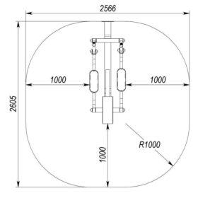 SMP-116.1 Elliptical Trainer