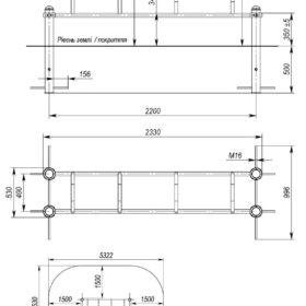 S-834.7 Mini parallel bars