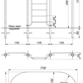 S-836.2 Horizontal bar – climber