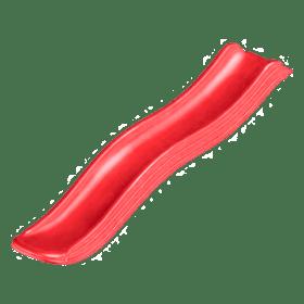 Plastikust liumägi 1.75m – punane