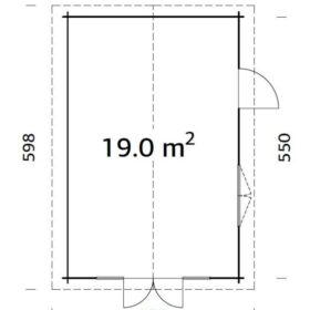 Aiamaja Irene 19,0 m2