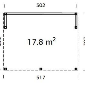 Paviljon Nova kit 17,8 m2