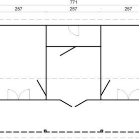 Suvemaja Sandra 25,6+11,1 m2