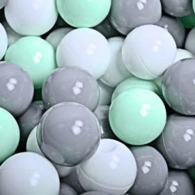 Mängukomplekt minipallimerega + 100 palli