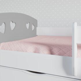 Lastevoodi 'Julia' voodikastiga 80×180, hall